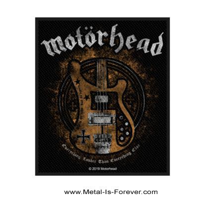 MOTORHEAD (モーターヘッド) LEMMY'S BASS 「レミーズ・ベース」 ワッペン