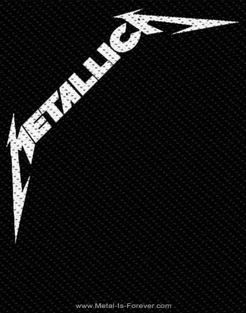 METALLICA (メタリカ) BLACK ALBUM 「ブラック・アルバム」 ワッペン
