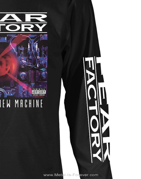 FEAR FACTORY (フィア・ファクトリー) SOUL OF A NEW MACHINE 「ソウル・オブ・ア・ニュー・マシーン」 長袖Tシャツ