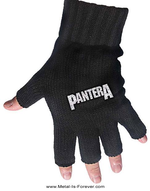 PANTERA (パンテラ) LOGO 「ロゴ」 フィンガーレス・グローブ