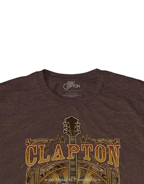 ERIC CLAPTON (エリック・クラプトン) TOUR 2008 「ツアー・2008」 Tシャツ(ブラウン)