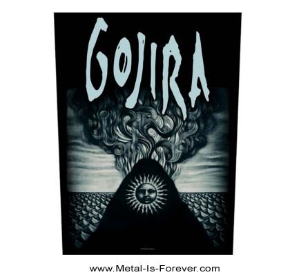 GOJIRA (ゴジラ) MAGMA 「マグマ」 バックパッチ