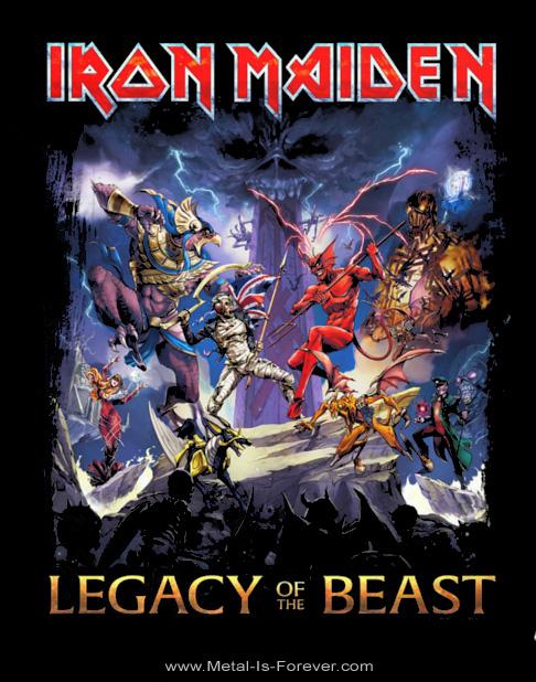 IRON MAIDEN -アイアン・メイデン- LEGACY OF THE BEAST 「ビースト・レガシー」 Tシャツ