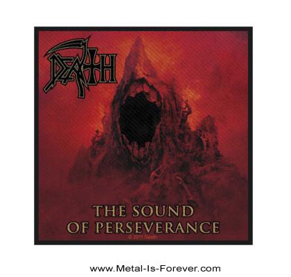 DEATH -デス- SOUND OF PERSEVERANCE 「サウンド・オブ・パーサヴィランス」 ワッペン