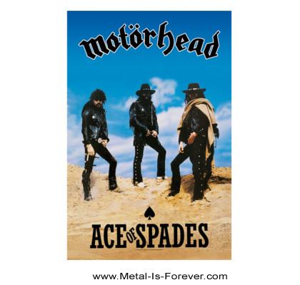 MOTORHEAD (モーターヘッド) ACE OF SPADES 「エース・オブ・スペーズ」 布製ポスター