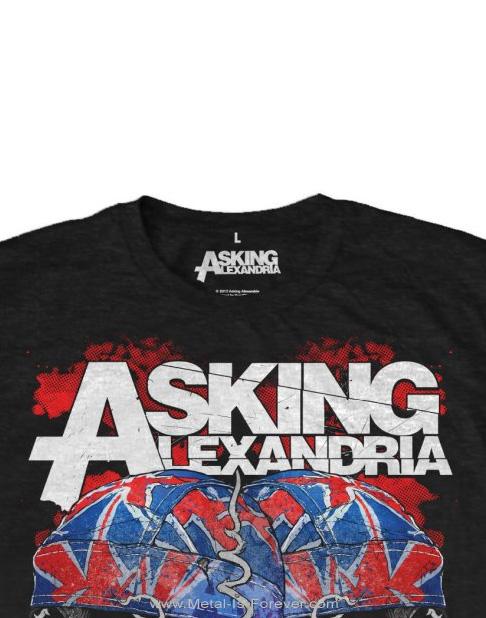 ASKING ALEXANDRIA (アスキング・アレクサンドリア) FLAGDANA 「フラッグダナ」 Tシャツ
