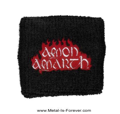 AMON AMARTH (アモン・アマース) RED FLAME 「レッド・フレイム」 リストバンド