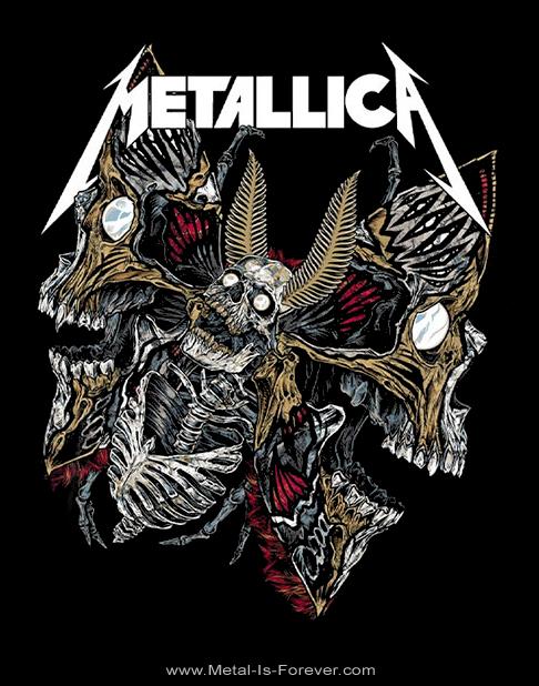 METALLICA (メタリカ) SKULL MOTH 「スカル・モス」 Tシャツ
