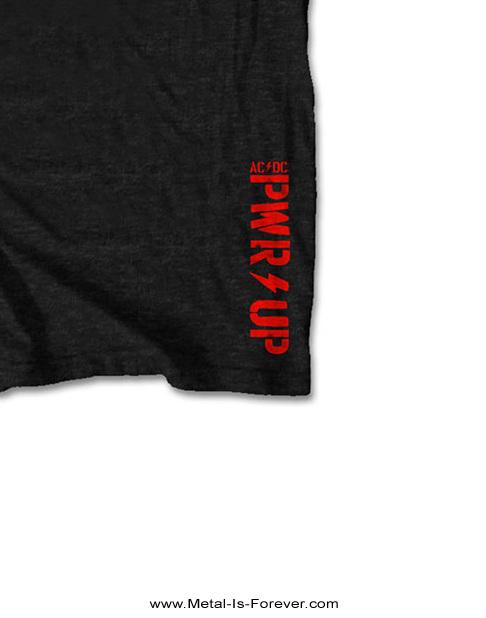 AC/DC (エーシー・ディーシー) BOLT LOGO 「ボルト・ロゴ」 Tシャツ