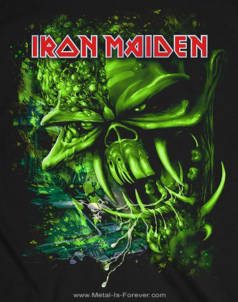 IRON MAIDEN (アイアン・メイデン) THE FINAL FRONTIER 「ファイナル・フロンティア」 グリーン・エディ Tシャツ