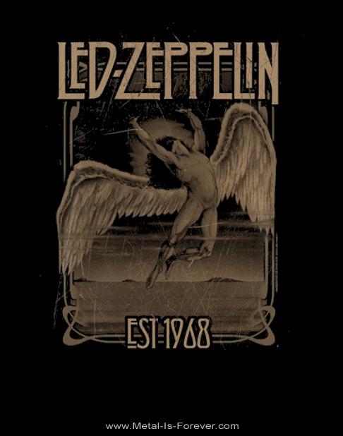 LED ZEPPELIN -レッド・ツェッペリン- FALLING FADED 「フォーリング・フェイデッド」 Tシャツ