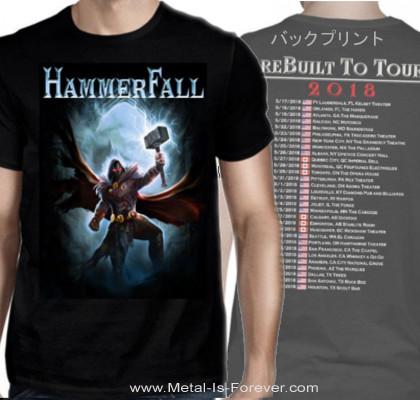 HAMMERFALL -ハンマーフォール- HECTOR HAMMER 「ヘクター・ハンマー -雷鎚-」  Tシャツ