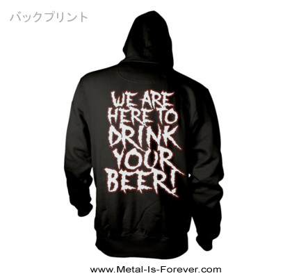 ALESTORM -エイルストーム- WE ARE HERE TO DRINK YOUR BEER! 「ウィ・アー・ヒア・トゥ・ドリンク・ユア・ビール!」 パーカー