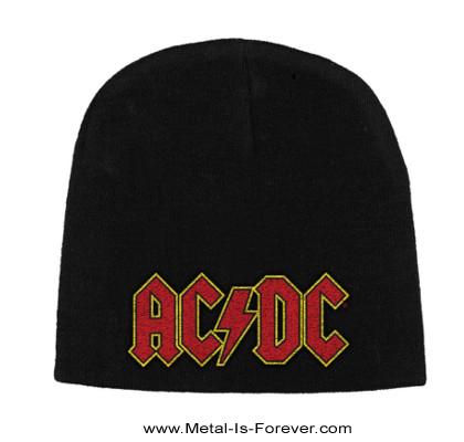 AC/DC -エーシー・ディーシー- LOGO 「ロゴ」 ニットキャップ