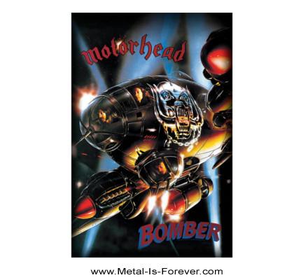 MOTORHEAD (モーターヘッド) BOMBER 「ボマー」 布製ポスター