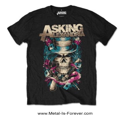 ASKING ALEXANDRIA (アスキング・アレクサンドリア) HAT SKULL 「ハット・スカル」 Tシャツ