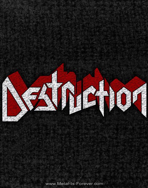 DESTRUCTION (デストラクション) LOGO 「ロゴ」 リストバンド