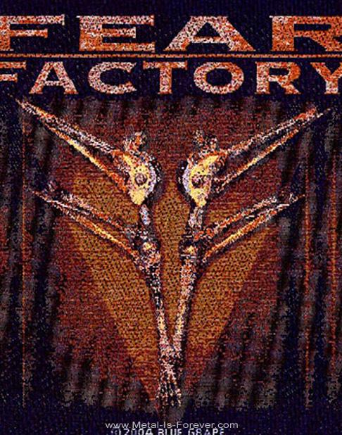 FEAR FACTORY (フィア・ファクトリー) ARCHETYPE 「アーキタイプ」 ワッペン