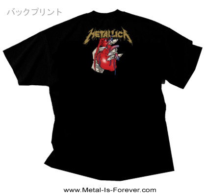 METALLICA (メタリカ) HEART EXPLOSIVE 「ハート・エクスプローシヴ」 Tシャツ