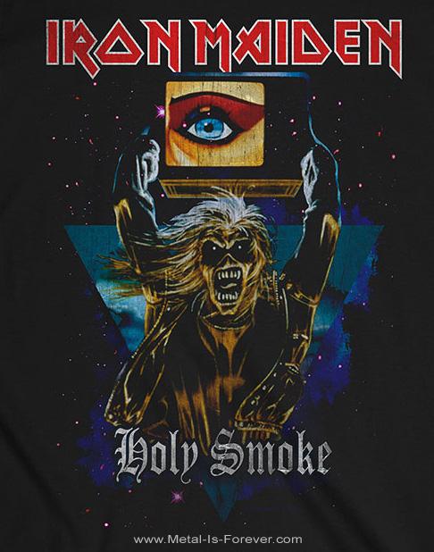 IRON MAIDEN (アイアン・メイデン) HOLY SMOKE SPACE TRIANGLE 「ホーリー・スモーク・トライアングル・エディ」 Tシャツ