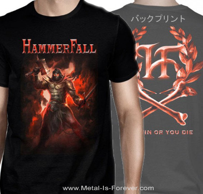 HAMMERFALL -ハンマーフォール- YOU WIN OR YOU DIE 「ユー・ウイン・オア・ユー・ダイ」  Tシャツ