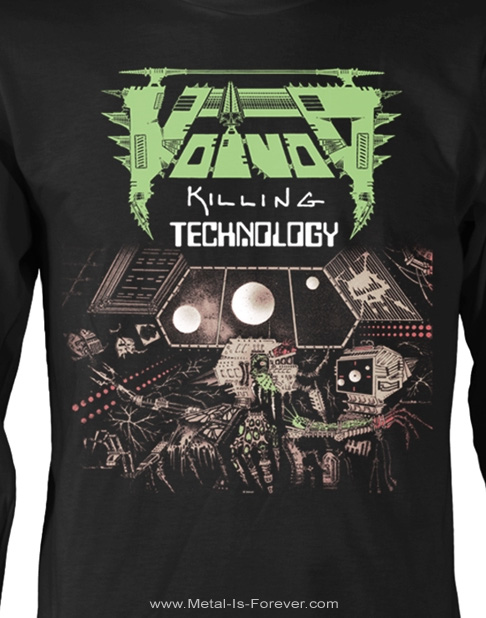 VOIVOD -ヴォイヴォド- KILLING TECHNOLOGY 「キリング・テクノロジー」 長袖Tシャツ