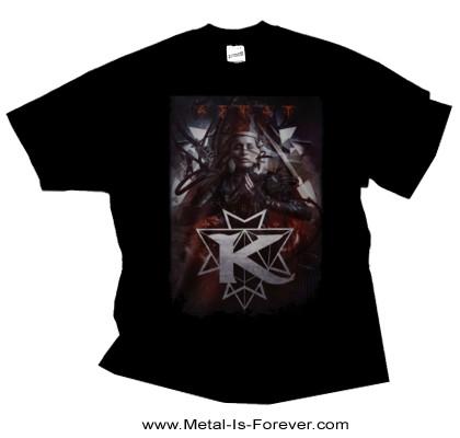 KAMELOT (キャメロット) THE SHADOW THEORY 「ザ・シャドウ・セオリー」 フラッグ Tシャツ