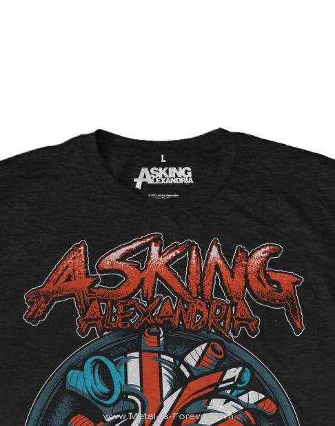 ASKING ALEXANDRIA (アスキング・アレクサンドリア) HEART ATTACK 「ハート・アタック」 Tシャツ