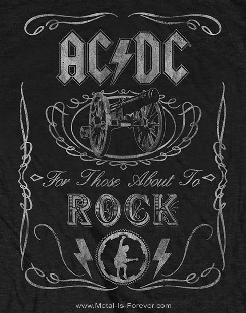 AC/DC (エーシー・ディーシー) CANNON SWIG VINTAGE 「キャノン・スウィグ・ヴィンテージ」 キッズ Tシャツ