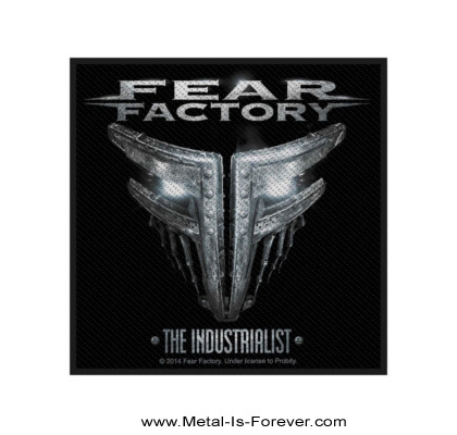 FEAR FACTORY (フィア・ファクトリー) THE INDUSTRIALIST 「ジ・インダストリアリスト」 ワッペン
