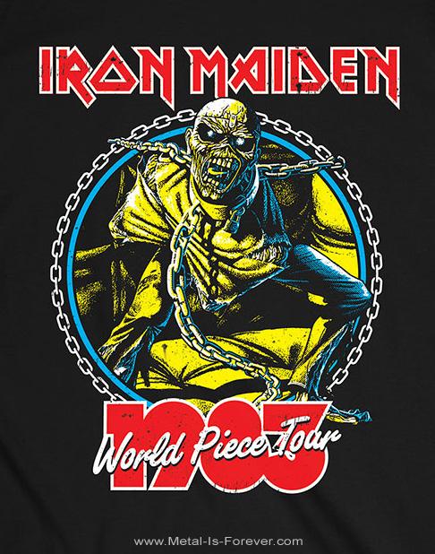 IRON MAIDEN (アイアン・メイデン) WORLD PIECE TOUR '83 「ワールド・ピース・ツアー '83」 Tシャツ