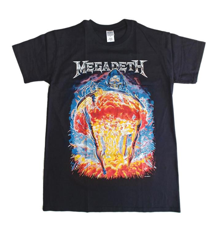 【在庫有り商品】MEGADETH -メガデス- COUNTDOWN TO EXTINCTION 「破滅へのカウントダウン」 Tシャツ Ver.2 Mサイズ