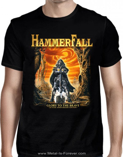 HAMMERFALL -ハンマーフォール- GLORY TO THE BRAVE 「グローリー・トゥ・ザ・ブレイヴ」  Tシャツ