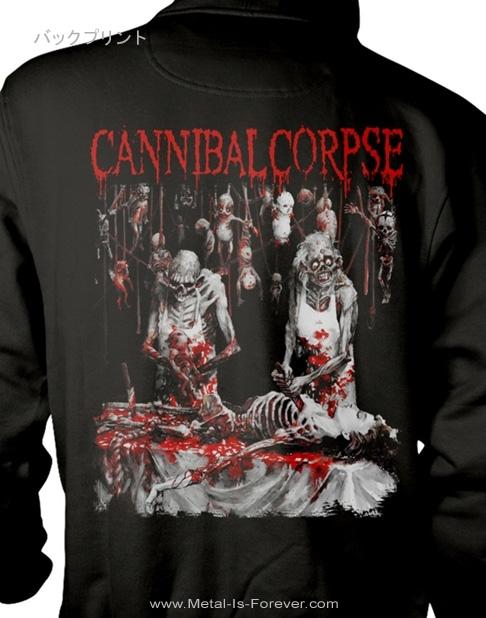 CANNIBAL CORPSE -カンニバル・コープス- BUTCHERED AT BIRTH 「斬鬼〜ブッチャード・アット・バース」 ジップ・パーカー