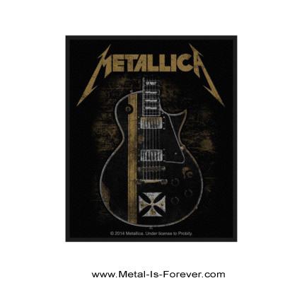 METALLICA (メタリカ) JAMES HETFIELD IRON CROSS GUITAR 「ジェイムズ・ヘットフィールド・アイアン・クロス・ギター」 ワッペン