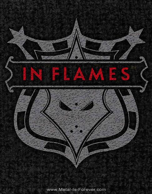 IN FLAMES (イン・フレイムス) SHIELD 「シールド」 リストバンド