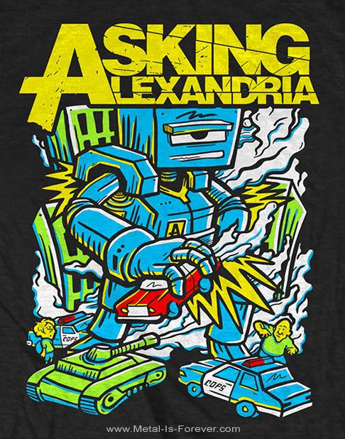 ASKING ALEXANDRIA (アスキング・アレクサンドリア) KILLER ROBOT 「キラー・ロボット」 Tシャツ