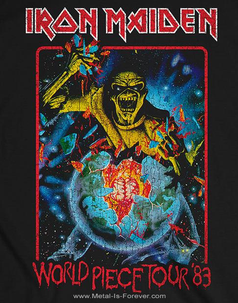 IRON MAIDEN (アイアン・メイデン) WORLD PIECE TOUR '83 「ワールド・ピース・ツアー '83」 Tシャツ Vol.2