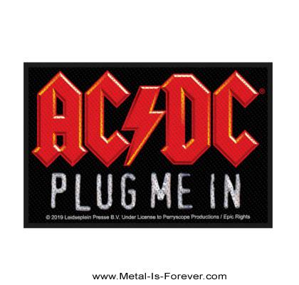 AC/DC -エーシー・ディーシー- PLUG ME IN 「プラグ・ミー・イン」 ワッペン