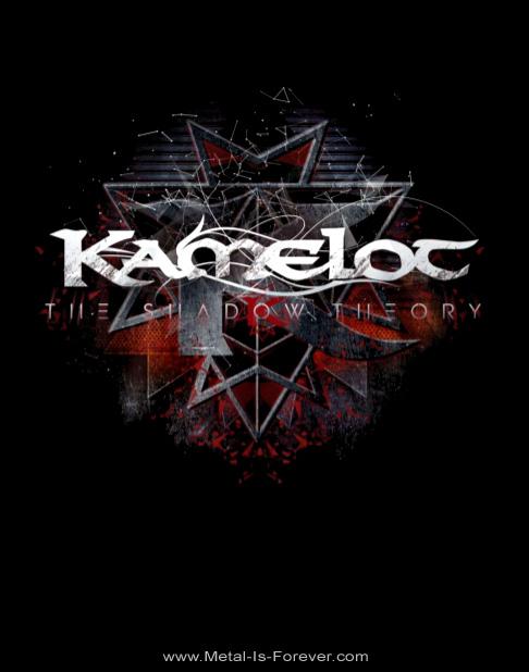KAMELOT (キャメロット) THE SHADOW THEORY 「ザ・シャドウ・セオリー」 トライアングル Tシャツ