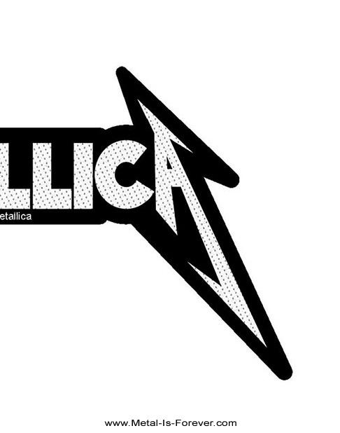 METALLICA (メタリカ) SHAPED LOGO 「シェイプ・ロゴ」 ワッペン