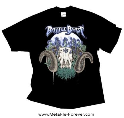 BATTLE BEAST (バトル・ビースト) RAM SKULL 「ラム・スカル」 Tシャツ