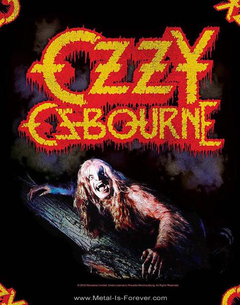 OZZY OSBOURNE (オジー・オズボーン) BARK AT THE MOON 「月に吠える」 バンダナ