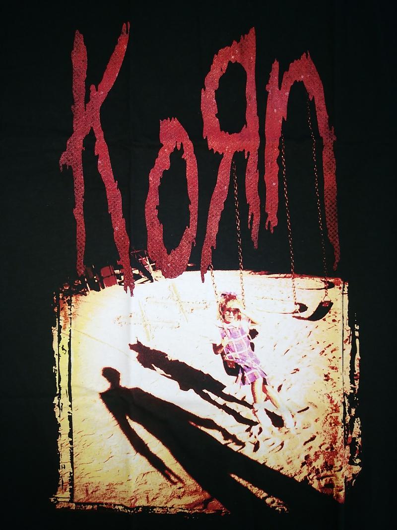 【在庫有り商品】KORN -コーン- KORN 「コーン」 Tシャツ Lサイズ