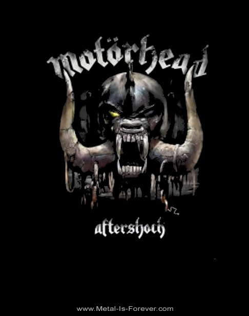 MOTORHEAD -モーターヘッド- AFTERSHOCK 「アフターショック」 ジップ・パーカー