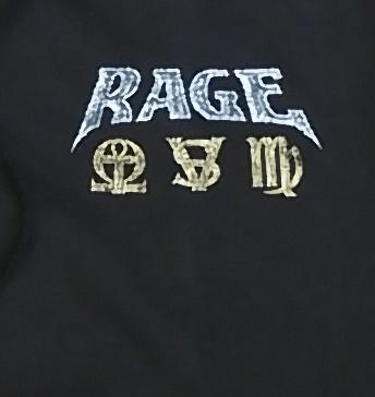 【在庫有り商品】RAGE -レイジ- STRINGS TO A WEB 「ストリングス・トゥ・ア・ウェブ」 パーカー Mサイズ