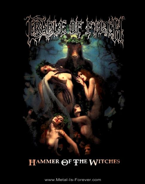 CRADLE OF FILTH -クレイドル・オブ・フィルス- HAMMER OF THE WITCHES 「ハンマー・オブ・ザ・ウィッチズ」 Tシャツ