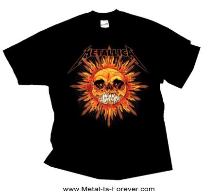 METALLICA -メタリカ- PUSHEAD SUN 「パスヘッド・サン」 Tシャツ