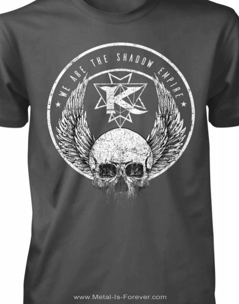 KAMELOT (キャメロット) SHADOW EMPIRE 「シャドウ・エンパイア」 Tシャツ(チャコール・グレー)