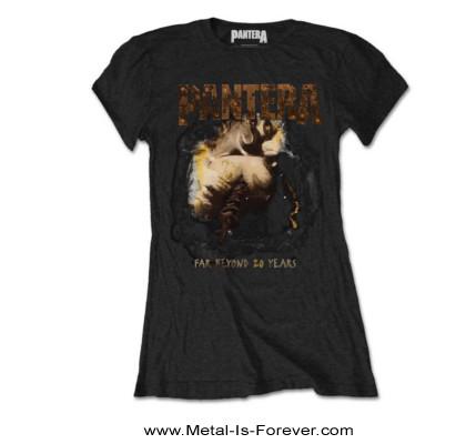 PANTERA (パンテラ) FAR BEYOND DRIVEN 「脳殺」 オリジナル・ジャケット レディースTシャツ